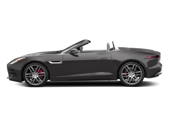 Corris Grey Metallic 2018 Jaguar F-TYPE Pictures F-TYPE Convertible Auto 380HP AWD photos side view