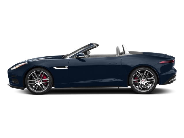 Loire Blue Metallic 2018 Jaguar F-TYPE Pictures F-TYPE Convertible Auto 380HP AWD photos side view