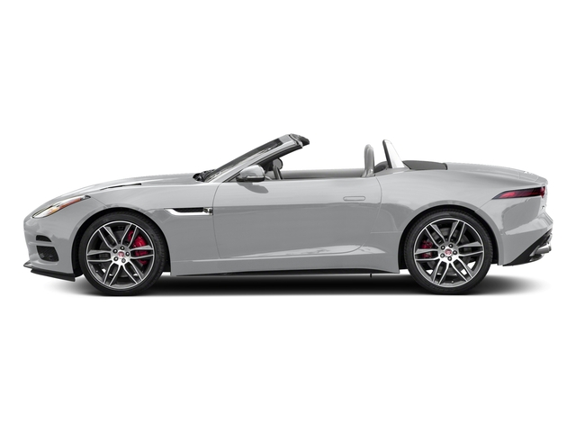 Yulong White Metallic 2018 Jaguar F-TYPE Pictures F-TYPE Convertible Auto 380HP AWD photos side view