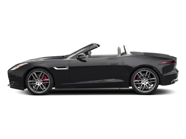 Carpathian Grey 2018 Jaguar F-TYPE Pictures F-TYPE Convertible Auto 380HP AWD photos side view