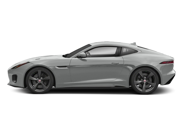 Indus Silver Metallic 2018 Jaguar F-TYPE Pictures F-TYPE Coupe Auto 400 Sport photos side view