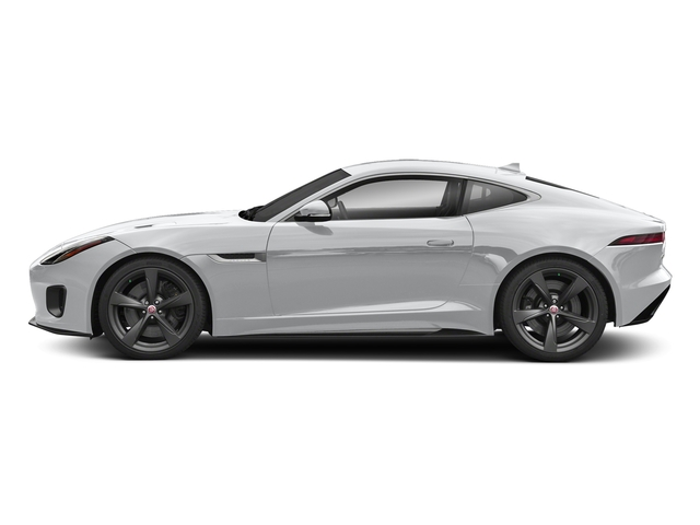 Yulong White Metallic 2018 Jaguar F-TYPE Pictures F-TYPE Coupe Auto 400 Sport photos side view