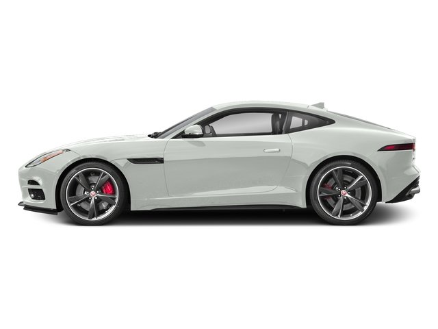 Fuji White 2018 Jaguar F-TYPE Pictures F-TYPE Coupe Auto 340HP photos side view
