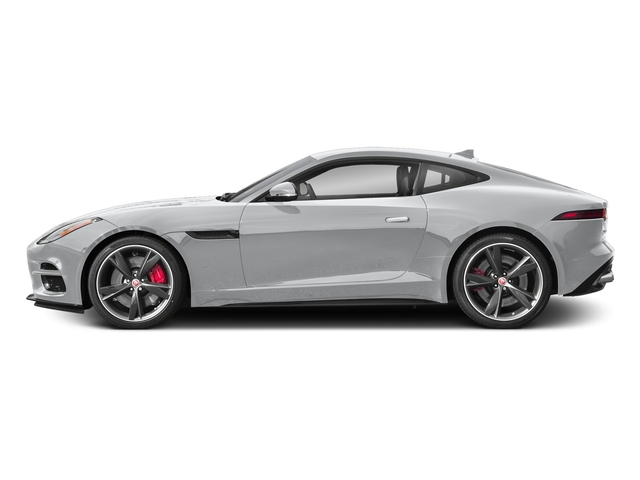 Yulong White Metallic 2018 Jaguar F-TYPE Pictures F-TYPE Coupe Auto R-Dynamic AWD photos side view