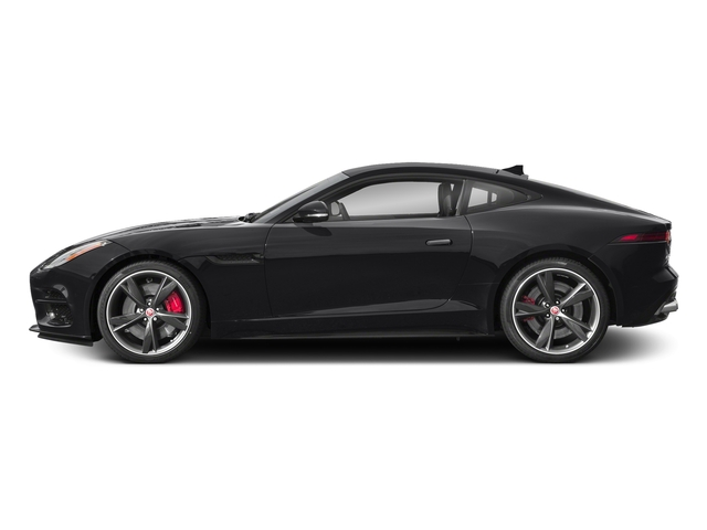 Narvik Black 2018 Jaguar F-TYPE Pictures F-TYPE Coupe Auto R-Dynamic AWD photos side view