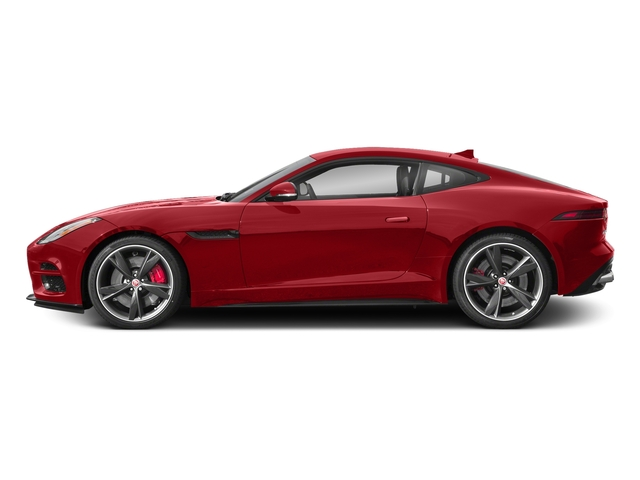 Caldera Red 2018 Jaguar F-TYPE Pictures F-TYPE Coupe Auto 340HP photos side view