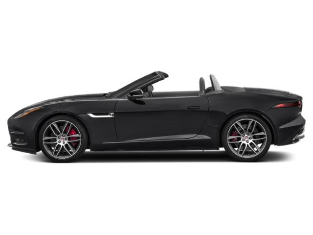 Narvik Black 2018 Jaguar F-TYPE Pictures F-TYPE Convertible Auto R-Dynamic photos side view