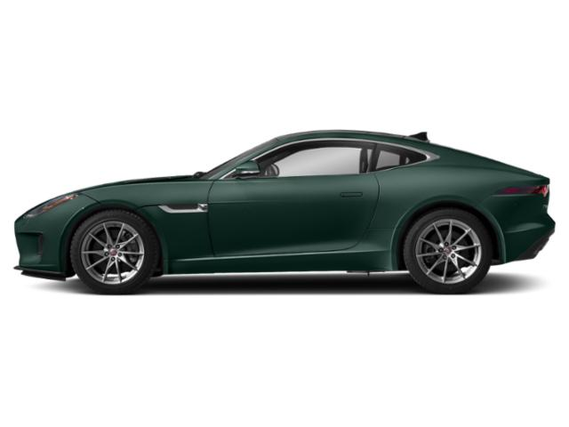 British Racing Green Metallic 2018 Jaguar F-TYPE Pictures F-TYPE Coupe Auto 380HP AWD photos side view