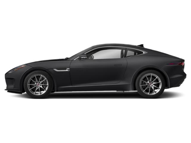 Narvik Black 2018 Jaguar F-TYPE Pictures F-TYPE Coupe Auto 380HP AWD photos side view