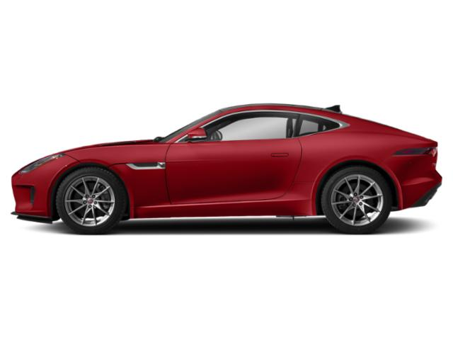 Caldera Red 2018 Jaguar F-TYPE Pictures F-TYPE Coupe Auto 380HP AWD photos side view