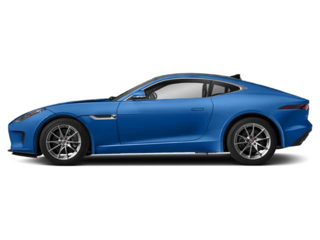 Ultra Blue Metallic 2018 Jaguar F-TYPE Pictures F-TYPE Coupe Auto 380HP AWD photos side view
