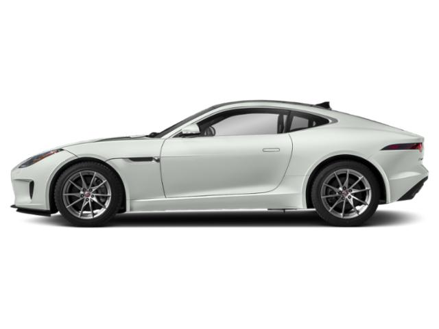 Fuji White 2018 Jaguar F-TYPE Pictures F-TYPE Coupe Auto 380HP AWD photos side view