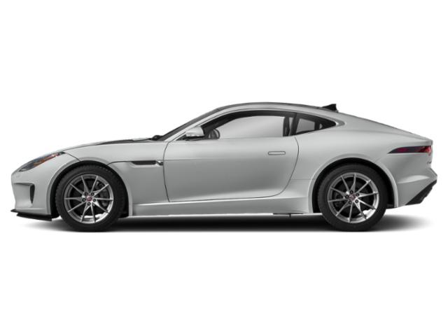 Indus Silver Metallic 2018 Jaguar F-TYPE Pictures F-TYPE Coupe Auto 380HP AWD photos side view
