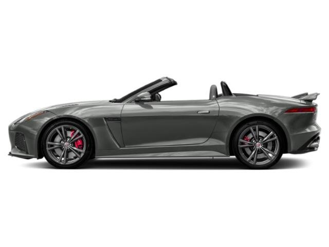 Corris Grey Metallic 2018 Jaguar F-TYPE Pictures F-TYPE Convertible Auto SVR AWD photos side view