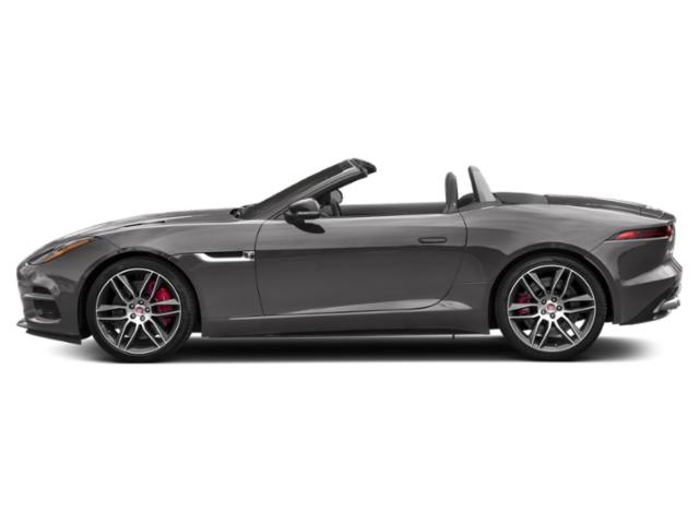 Corris Grey Metallic 2018 Jaguar F-TYPE Pictures F-TYPE Convertible Auto R AWD photos side view