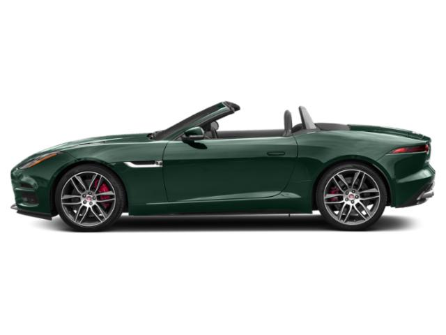 British Racing Green Metallic 2018 Jaguar F-TYPE Pictures F-TYPE Convertible Auto R AWD photos side view