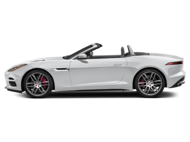 Yulong White Metallic 2018 Jaguar F-TYPE Pictures F-TYPE Convertible Auto 400 Sport photos side view