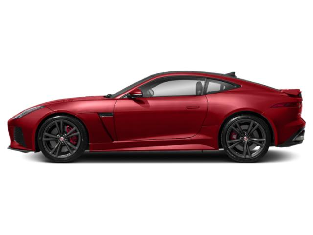 Caldera Red 2018 Jaguar F-TYPE Pictures F-TYPE Coupe Auto SVR AWD photos side view