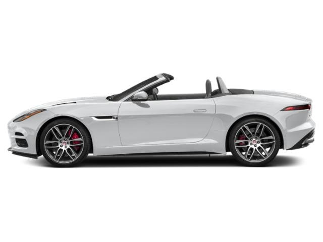 Yulong White Metallic 2018 Jaguar F-TYPE Pictures F-TYPE Convertible 2D 400 Sport AWD photos side view