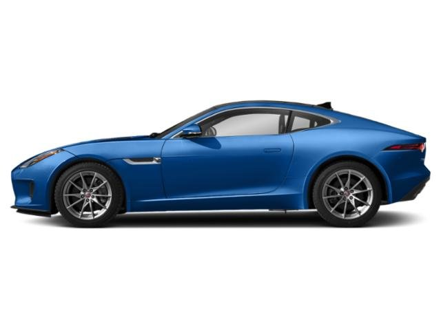 Ultra Blue Metallic 2018 Jaguar F-TYPE Pictures F-TYPE Coupe 2D 380 photos side view