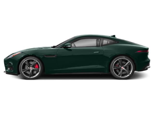 British Racing Green Metallic 2018 Jaguar F-TYPE Pictures F-TYPE Coupe 2D R-Dynamic photos side view
