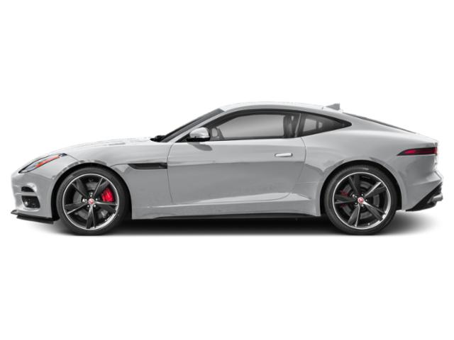 Yulong White Metallic 2018 Jaguar F-TYPE Pictures F-TYPE Coupe 2D R-Dynamic photos side view