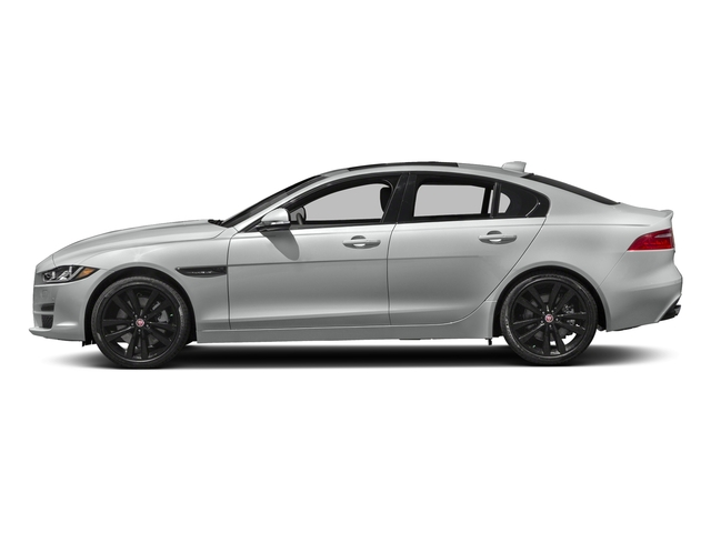 Indus Silver 2018 Jaguar XE Pictures XE 35t Premium RWD *Ltd Avail* photos side view