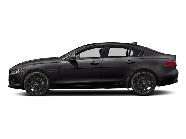 Santorini Black 2018 Jaguar XE Pictures XE 35t Premium RWD *Ltd Avail* photos side view