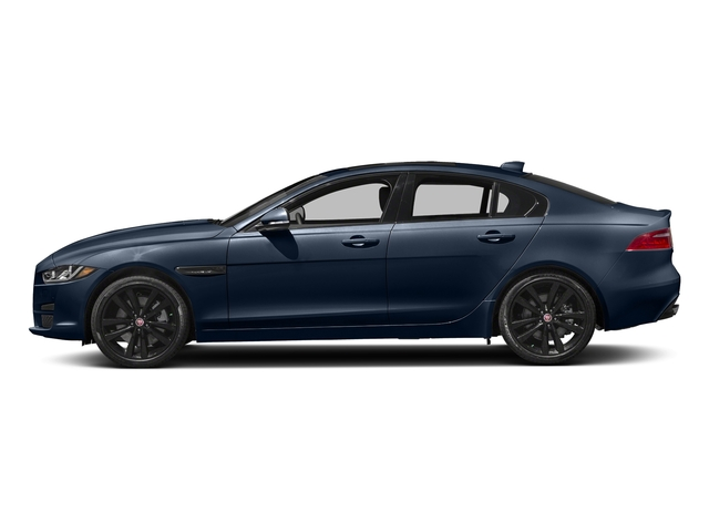 Loire Blue 2018 Jaguar XE Pictures XE 35t Premium RWD *Ltd Avail* photos side view