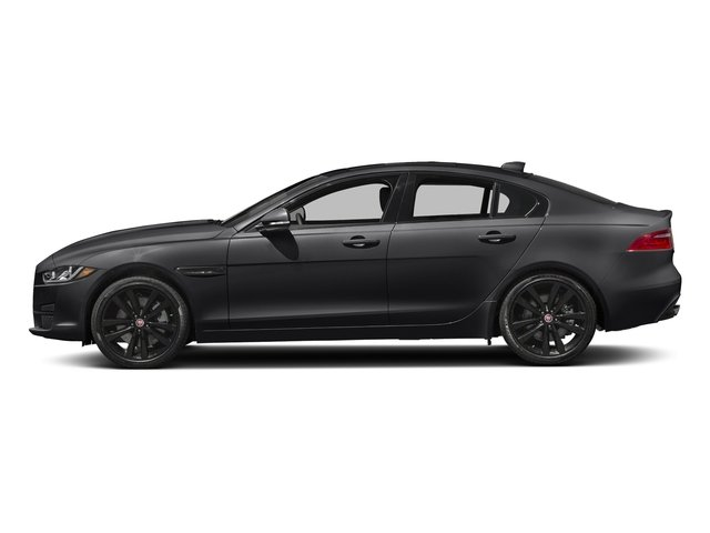 Narvik Black 2018 Jaguar XE Pictures XE 35t Premium RWD *Ltd Avail* photos side view