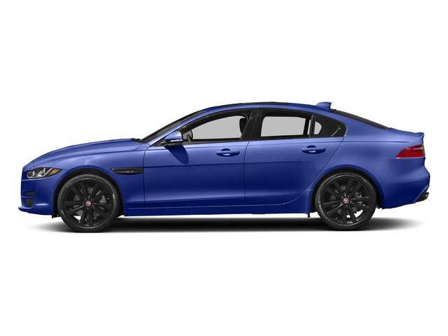Caesium Blue 2018 Jaguar XE Pictures XE 35t Premium RWD *Ltd Avail* photos side view