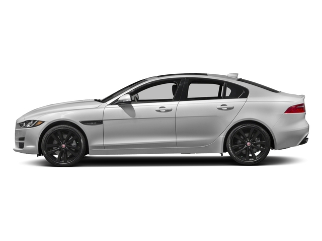 Silicon Silver 2018 Jaguar XE Pictures XE 35t Premium RWD *Ltd Avail* photos side view