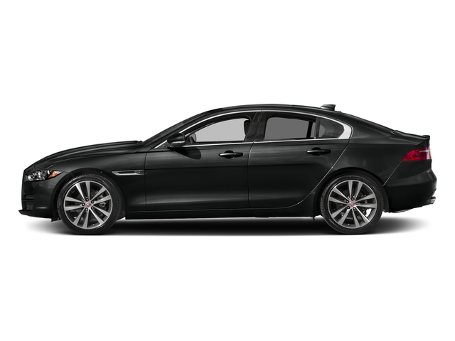 Narvik Black 2018 Jaguar XE Pictures XE 20d Prestige AWD photos side view