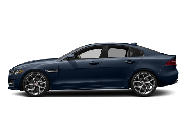 Loire Blue 2018 Jaguar XE Pictures XE 35t R-Sport AWD *Ltd Avail* photos side view