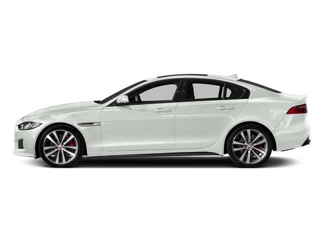 Fuji White 2018 Jaguar XE Pictures XE S AWD photos side view
