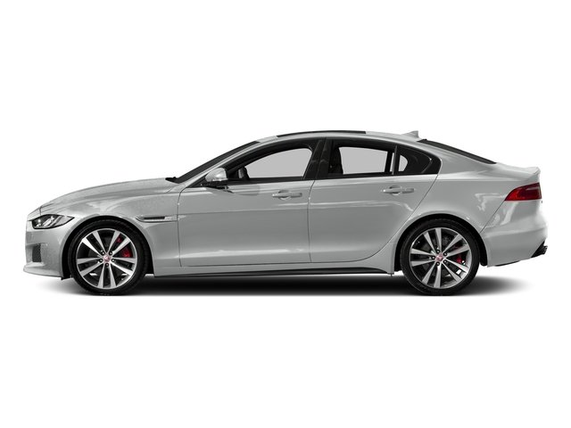 Indus Silver 2018 Jaguar XE Pictures XE S AWD photos side view