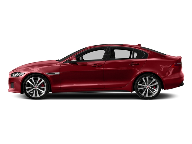 Firenze Red 2018 Jaguar XE Pictures XE S AWD photos side view