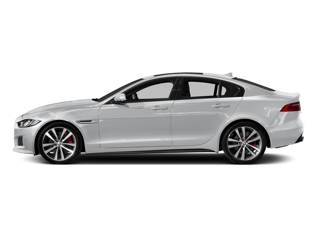 Yulong White 2018 Jaguar XE Pictures XE S AWD photos side view
