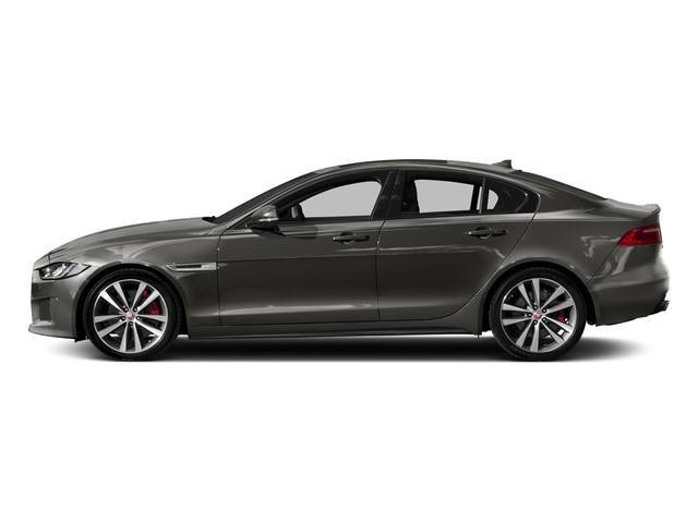 Silicon Silver 2018 Jaguar XE Pictures XE S AWD photos side view