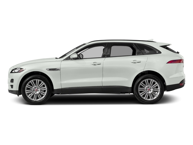 Fuji White 2018 Jaguar F-PACE Pictures F-PACE 20d Prestige AWD photos side view