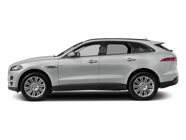 Indus Silver Metallic 2018 Jaguar F-PACE Pictures F-PACE 20d Prestige AWD photos side view