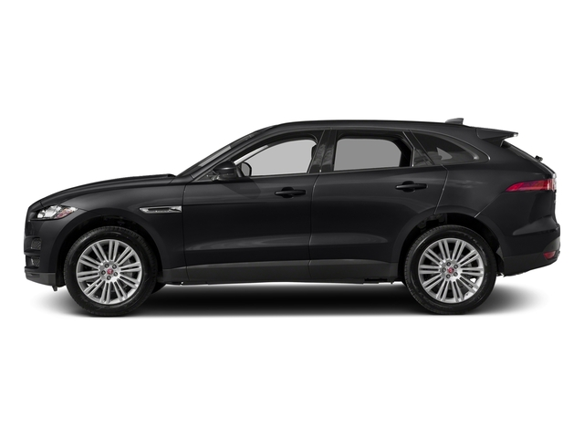 Narvik Black 2018 Jaguar F-PACE Pictures F-PACE 20d Prestige AWD photos side view