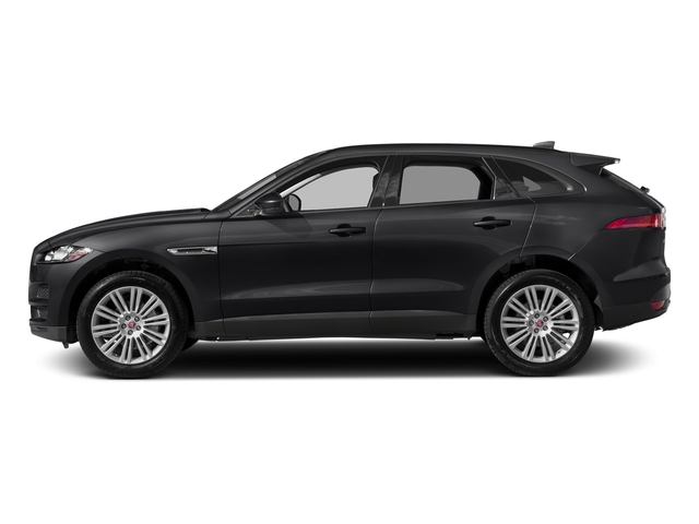 Carpathian Grey 2018 Jaguar F-PACE Pictures F-PACE 20d Prestige AWD photos side view