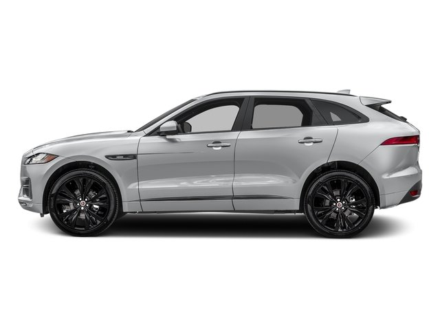 Yulong White Metallic 2018 Jaguar F-PACE Pictures F-PACE Utility 4D 20d R-Sport AWD photos side view