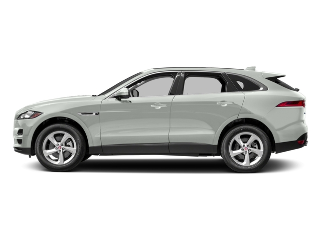 Fuji White 2018 Jaguar F-PACE Pictures F-PACE 35t Premium AWD photos side view