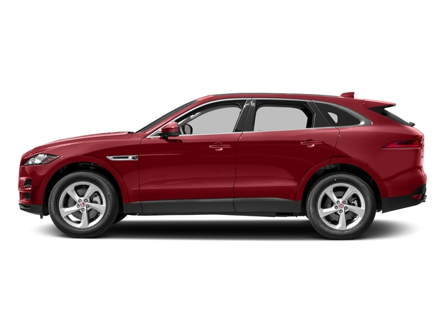 Firenze Red Metallic 2018 Jaguar F-PACE Pictures F-PACE 35t Premium AWD photos side view
