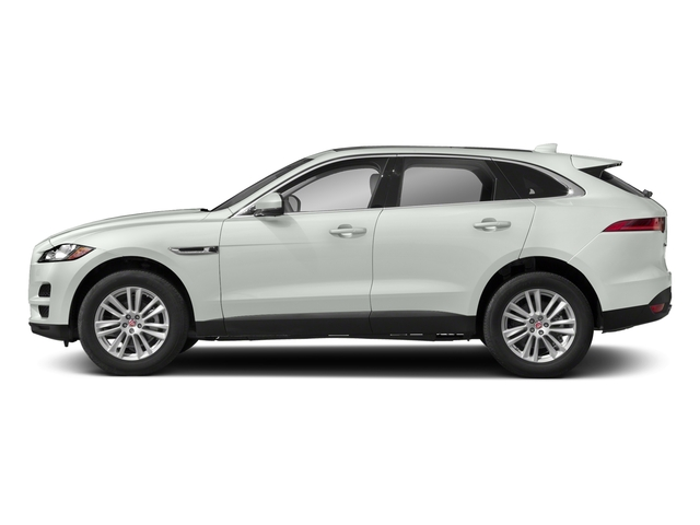 Fuji White 2018 Jaguar F-PACE Pictures F-PACE 25t Premium AWD photos side view