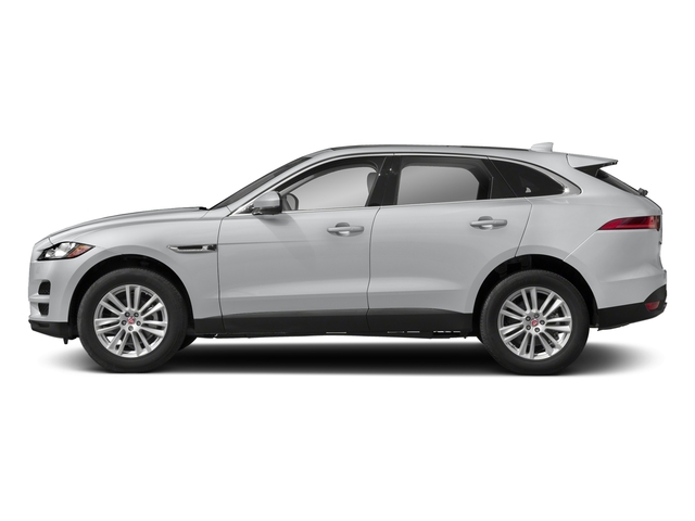 Yulong White Metallic 2018 Jaguar F-PACE Pictures F-PACE 25t Premium AWD photos side view