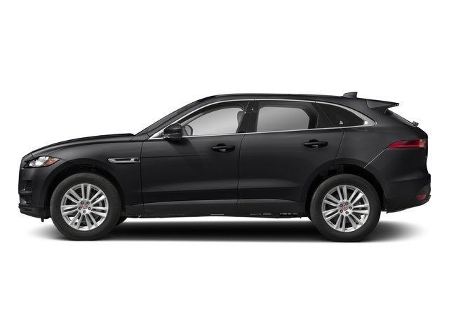 Carpathian Grey 2018 Jaguar F-PACE Pictures F-PACE 25t Premium AWD photos side view