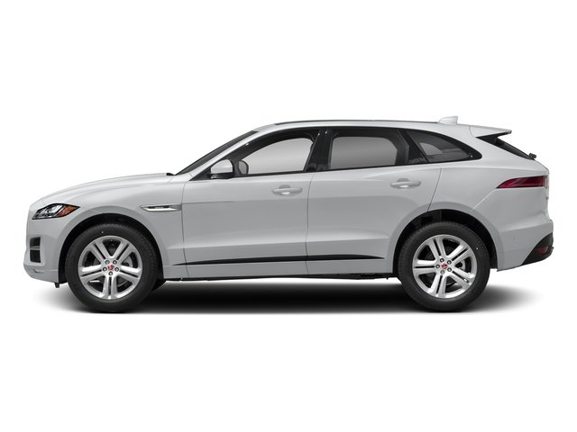 Yulong White Metallic 2018 Jaguar F-PACE Pictures F-PACE 25t R-Sport AWD photos side view